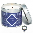 Alps Inspired Luxury Large Tin Candle - Spice